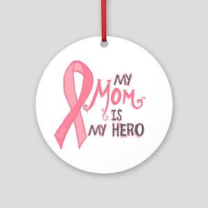 Mom Hero Ornament (Round)