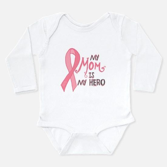 Mom Hero Long Sleeve Infant Bodysuit