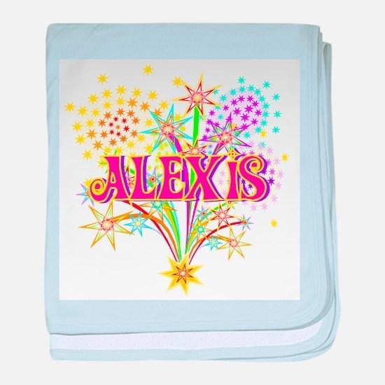 Sparkle Celebration Alexis baby blanket