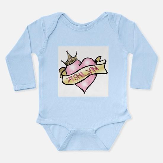 Sweetheart Ashlyn Custom Prin Long Sleeve Infant B