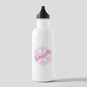 Danielle Snowflake Personaliz Stainless Water Bott