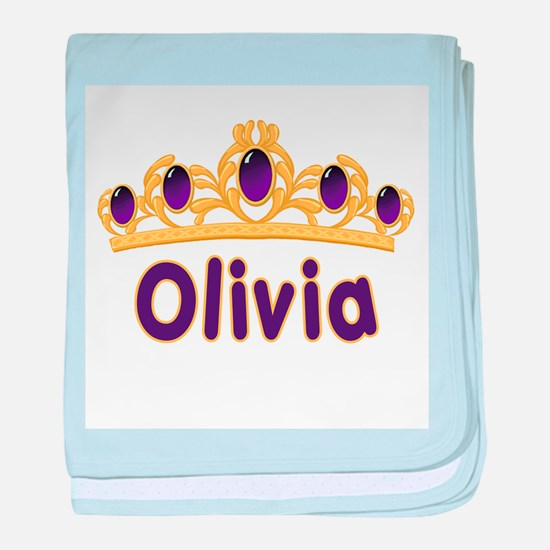 Princess Tiara Olivia Persona baby blanket