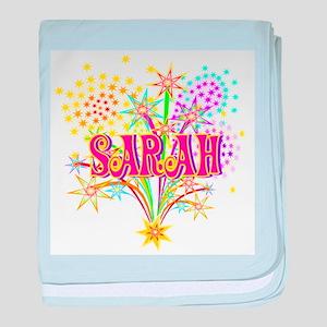 Sparkle Celebration Sarah baby blanket