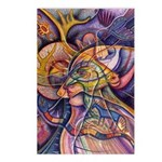 Huichol Eagle Postcards (Package of 8)