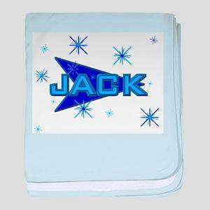 Jack - Blue Sparkle baby blanket