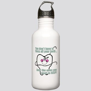Keep Flossing! Dentist Stainless Water Bottle 1.0L