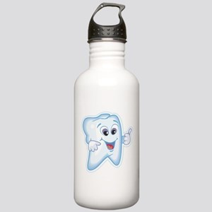 Healthy Happy Tooth Stainless Water Bottle 1.0L