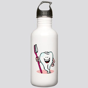 Happy Tooth & Brush Stainless Water Bottle 1.0