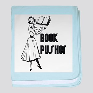 Book Pusher baby blanket