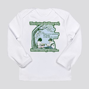 No Substitute For Books Long Sleeve Infant T-Shirt