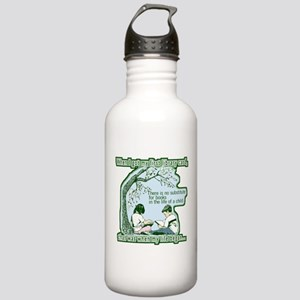 No Substitute For Books Stainless Water Bottle 1.0