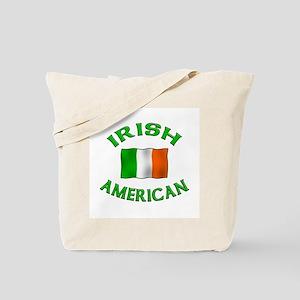 Irish American w/Irish flag Tote Bag