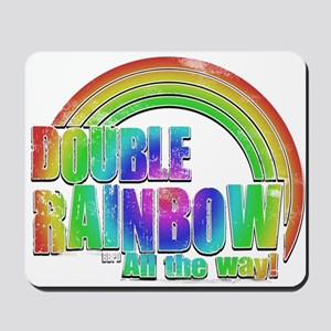 Double Rainbow Mousepad
