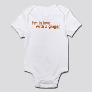 I'm in Love with a Ginger Infant Bodysuit