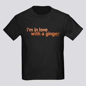 I'm in Love with a Ginger Kids Dark T-Shirt