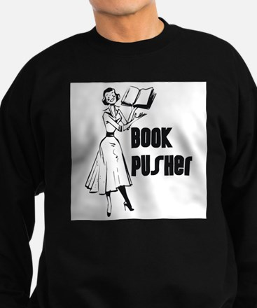 Book Pusher Sweatshirt (dark)