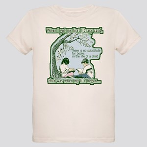 No Substitute For Books Organic Kids T-Shirt