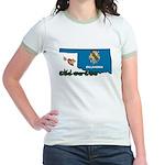 ILY Oklahoma Jr. Ringer T-Shirt
