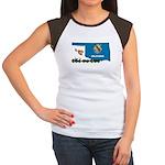 ILY Oklahoma Women's Cap Sleeve T-Shirt