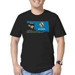 ILY Oklahoma Men's Fitted T-Shirt (dark)