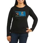 ILY Oklahoma Women's Long Sleeve Dark T-Shirt