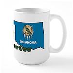 ILY Oklahoma Large Mug