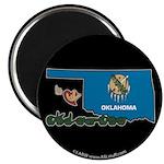 ILY Oklahoma Magnet