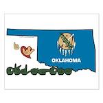 ILY Oklahoma Small Poster
