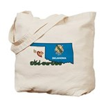 ILY Oklahoma Tote Bag