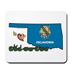 ILY Oklahoma Mousepad