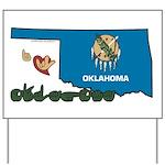 ILY Oklahoma Yard Sign