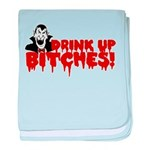 Dracula Drink up Bitches Hall baby blanket