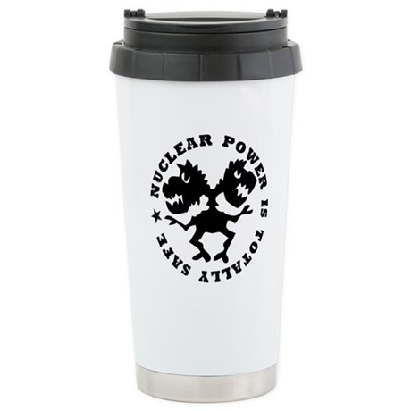 Nuclear Power Stainless Steel Travel Mug