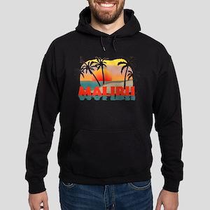 Malibu California Souvenir Hoodie (dark)
