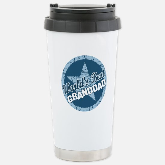 Worlds Best Granddad Stainless Steel Travel Mug