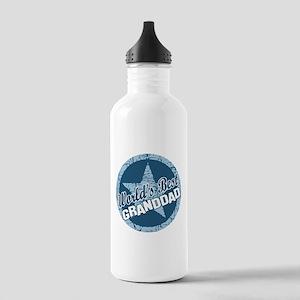 Worlds Best Granddad Stainless Water Bottle 1.0L