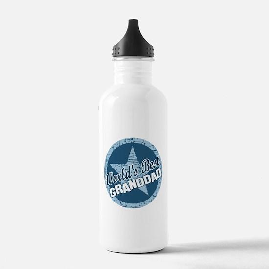 Worlds Best Granddad Water Bottle