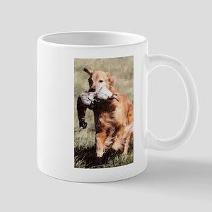 Golden Retrieving Mug