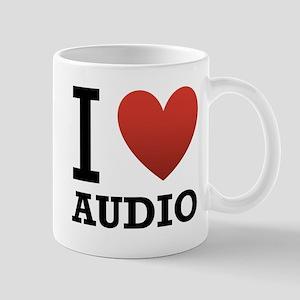 I Love Audio Mug