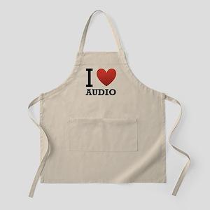 I Love Audio Apron