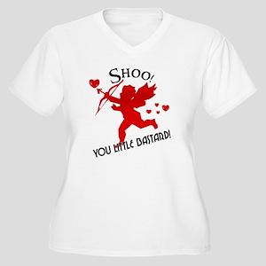 7e34776d Anti Valentines Day Plus Size V-Neck T-Shirts - CafePress
