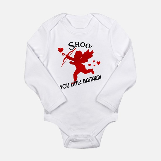 Shoo fly Cupid Anti-Valentine Long Sleeve Infant B