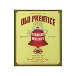 Old Prentice Whiskey - Throw Blanket