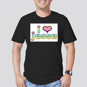 JESSE JESSE JESSE Men's Fitted T-Shirt (dark)