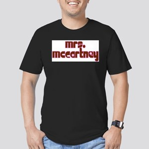 Mrs. McCartney Men's Fitted T-Shirt (dark)
