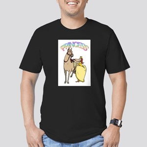 Redhead Princess and Pony Men's Fitted T-Shirt (da