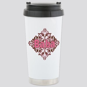 Personalized Baba Stainless Steel Travel Mug