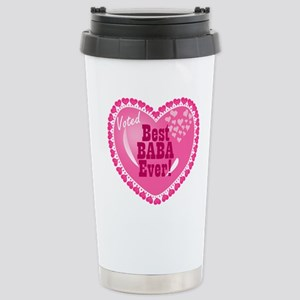 Best Baba Ever Stainless Steel Travel Mug
