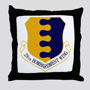 28th Bomb WIng Throw Pillow