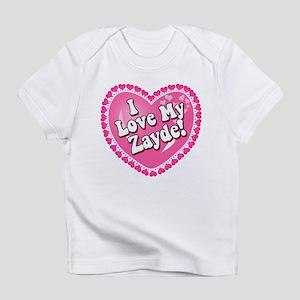 I Love My Zayde Infant T-Shirt